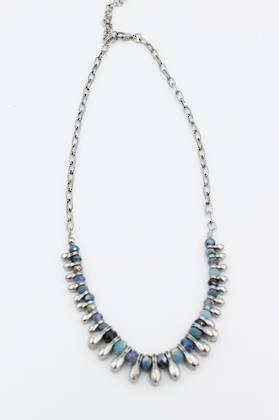 Marrakesh Necklace Blue