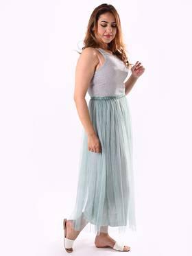 Nicolette Tulle Skirt Mint