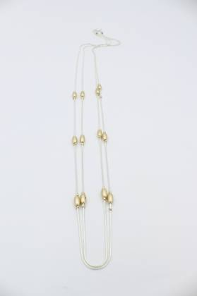 Raina Two Chain Necklace