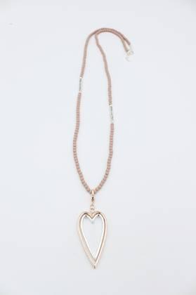 Saint Tropez Heart Necklace