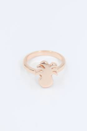 Pineapple Rose Gold Ring