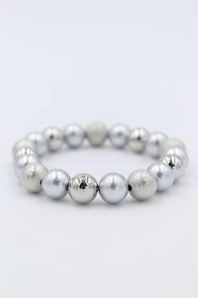 Marine Grey Pearl Bracelet