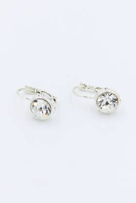 French Clip Diamond Earrings