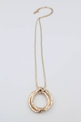 Jingle Ring Necklace