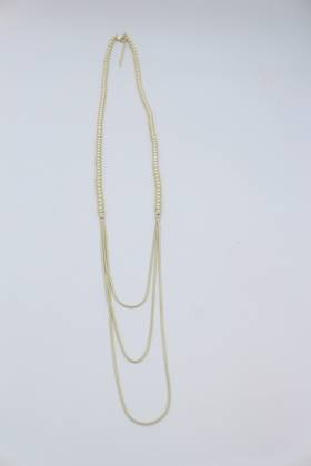 Oslo Matt Gold Necklace