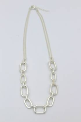 Zoey Silver Necklace