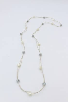 Clay Pearl Necklace