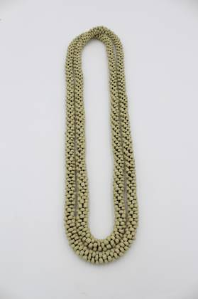 Seedbead Sage Necklace