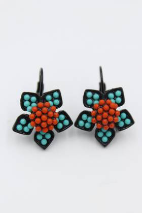Moroccan Star Earrings