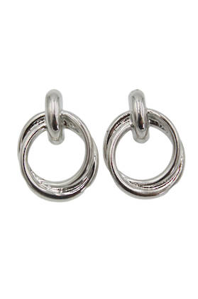 Meg Silver Earrings