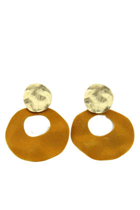 Eva Mustard Earrings