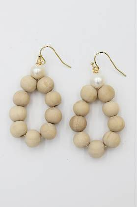 Beach Pearl Earrings