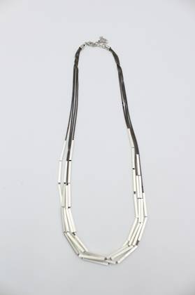 Sleek Silver Necklace