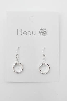 Sterling Silver Ring Earring