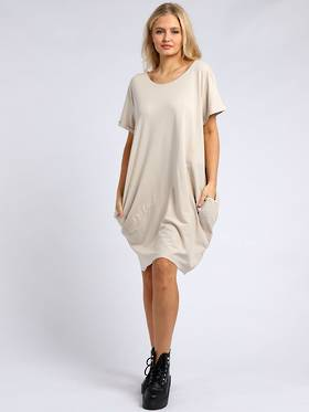 Sasha Cotton Dress Beige