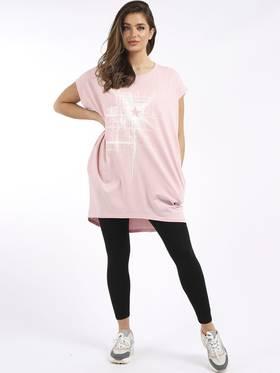 Starburst T Shirt Pale Pink