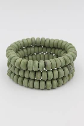 Olive Green Bracelet