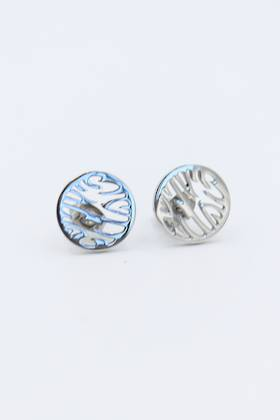 Zig Zag Stainless Steel Earrings