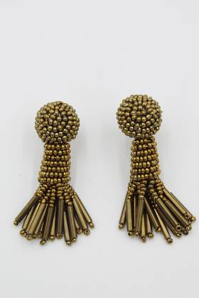 Gold Spray Earrings
