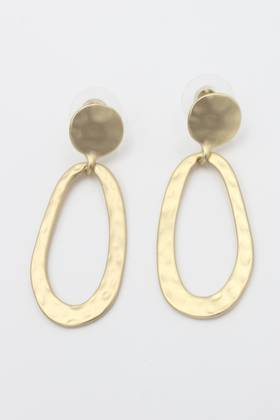 Yana Loop Earring Gold
