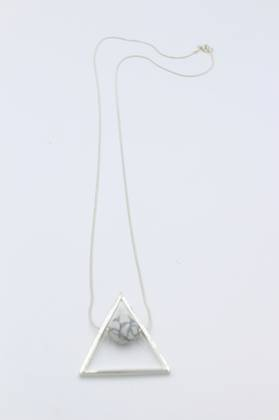 Luna Triangle Necklace