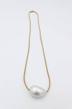 Frosted Pearl Pendant