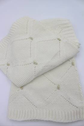 Baby Blanket Gilded Bauble
