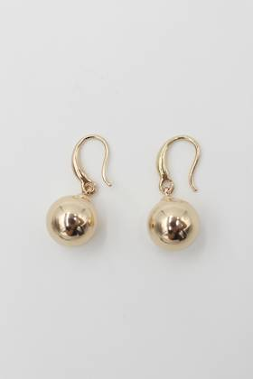 Luna Ball Earrings Gold