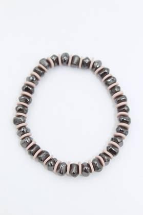 Atomic Black Bracelet