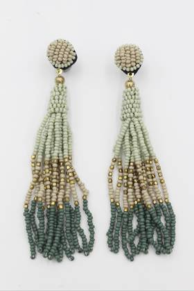 Green Mist Earrings