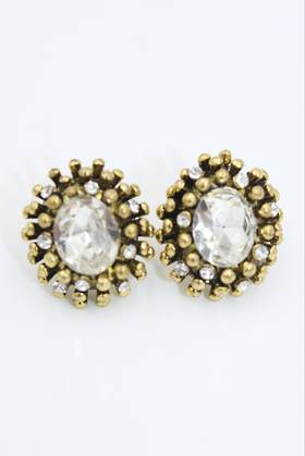 Gold Dot Earrings