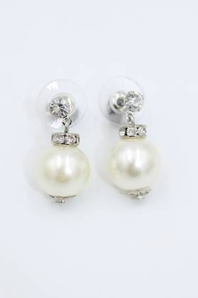Bauble Pearl Earrings