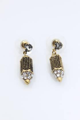 Nouveau Gold Earrings