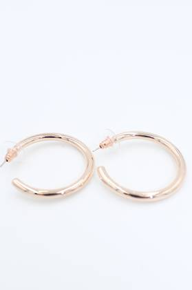 Ella Loop Rose Gold Earrings