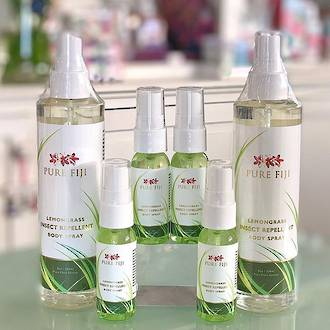 Pure Fiji | Lemongrass Insect Repellent Body Spray