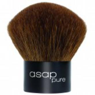 asap | Pure Loose Mineral Make-Up | Kabuki Brush