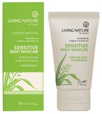Living Nature | Sensitive Night Moisturiser