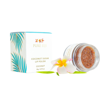 Pure Fiji | Coconut Sugar Lip Polish