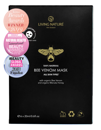 Living Nature | Organic Bee Venom Mask