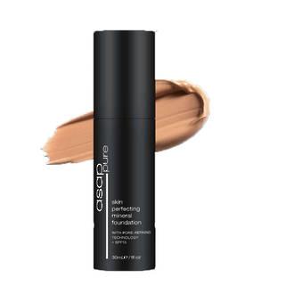 asap | Skin Perfecting Liquid Mineral Foundation | WarmFour