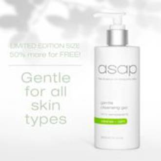 asap | Gentle Cleansing Gel - 300ml