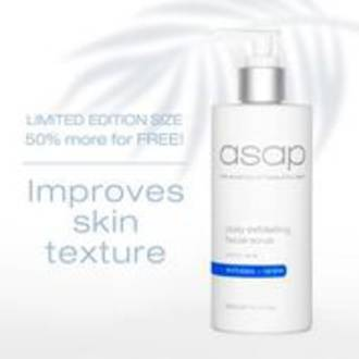 asap | Daily Exfoliating Facial Scrub - 300ml