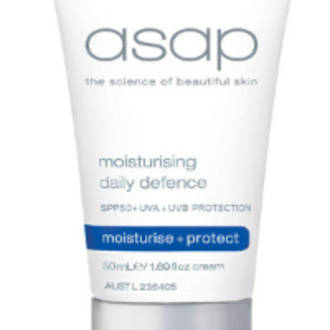 asap | Moisturising Daily Defence SPF50+ - 100ml
