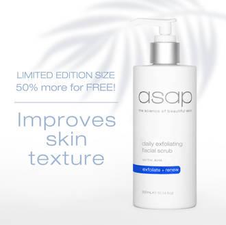 asap | Daily Exfoliating Facial Scrub - 300ml