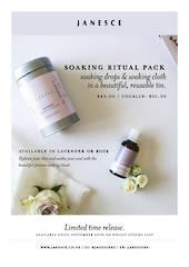 Janesce | Soaking Ritual Pack - Lavender