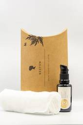 Bestow | The Graces Nourishing Facial Oil + Soaking Cloth