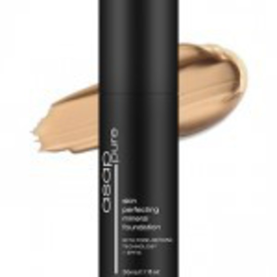 asap | Skin Perfecting Liquid Mineral Foundation |Cool-One