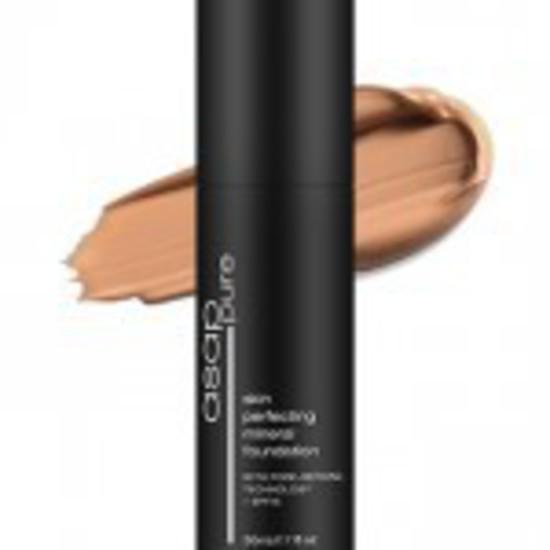 asap   Skin Perfecting Liquid Mineral Foundation   WarmFour