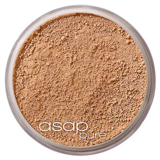 asap | Pure Loose Mineral Foundation |Three (Medium-Dark)