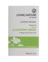 Living Nature | Deep Cleansing Mask - Single
